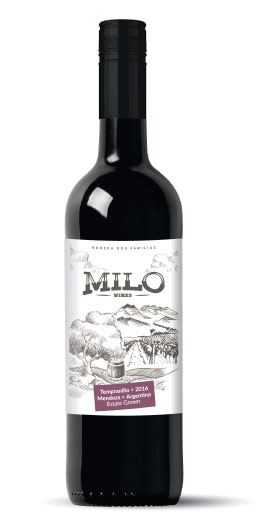 MILO WINES ESTATE GROWN TEMPRANILLO